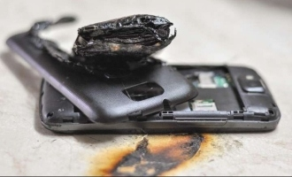 Man dies in sleep as mobile phone explodes while charging