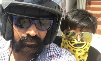 Vijay Sethupathi and his son fight video goes viral