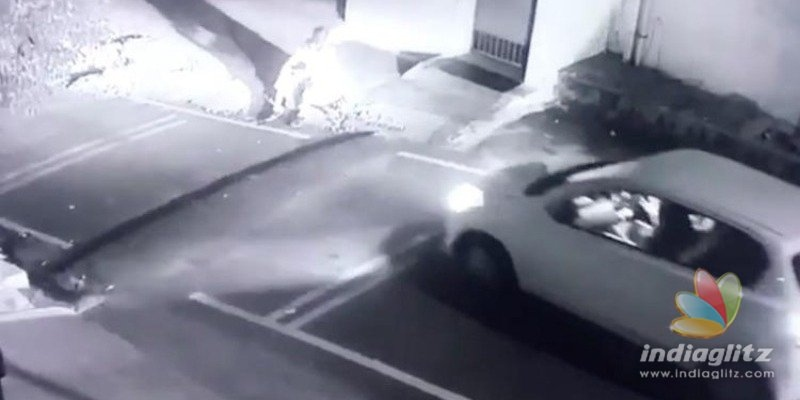 [VIDEO] TN: 13-year-old girl runs car over man, CCTV footage goes viral