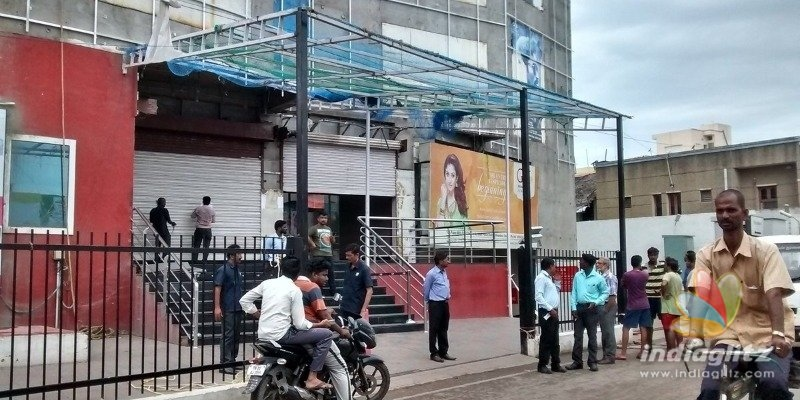 Bomb threat to Chennais famous multiplex theater