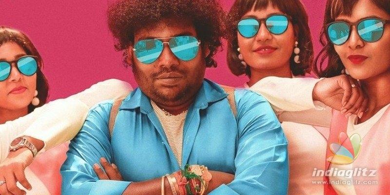 Yogi Babu rocks in a Thala-Thalapathy mix - Gurkha trailer review