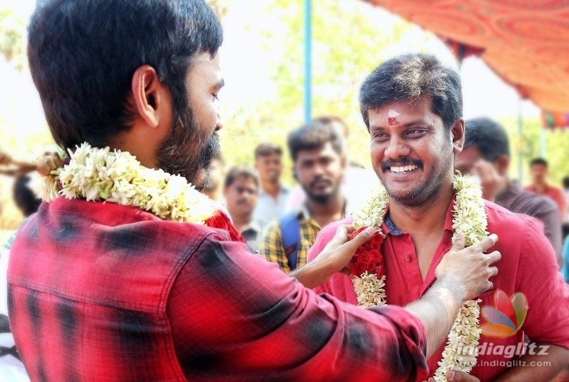 Dhanushs new movie started today with a pooja