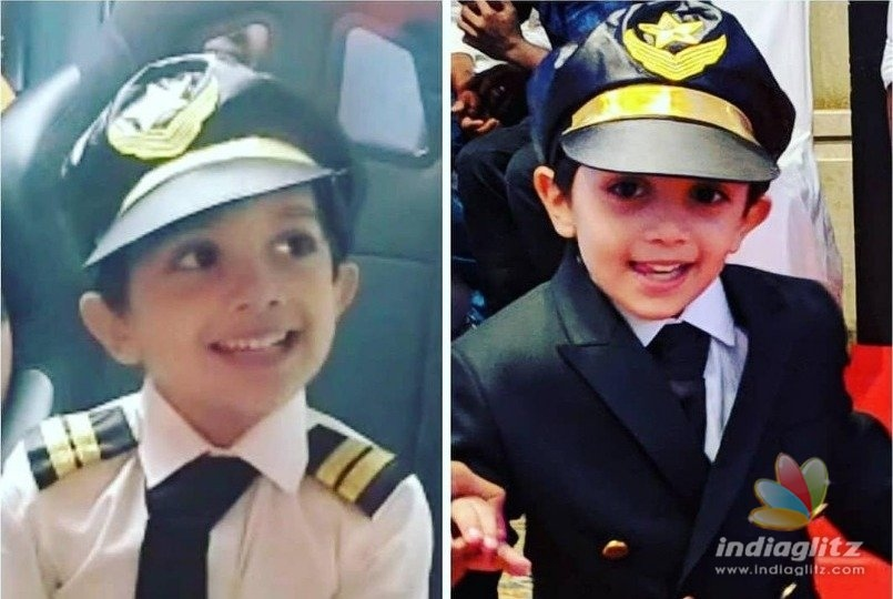 Thala Ajiths son Aadviks latest pics rock the internet just like his dad