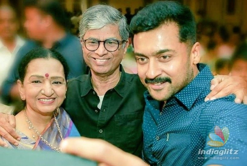 Suriyas selfie with Thalapthy Vijays parents rocks the internet