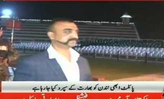 Abhinandan arrives in India at last!
