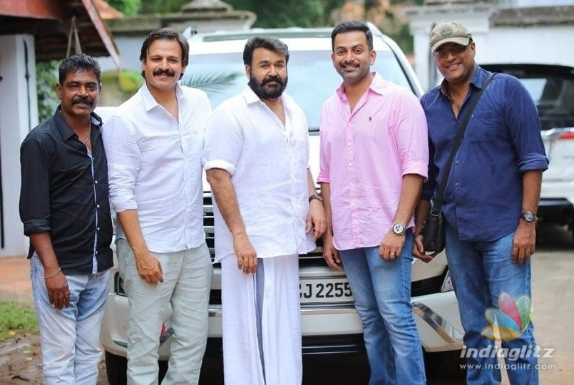 Mohanlals next political thriller in Tamil!
