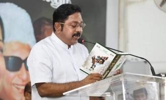 TTV Dinakaran releases AMMK  manifesto for Lok Sabha Elections 2019