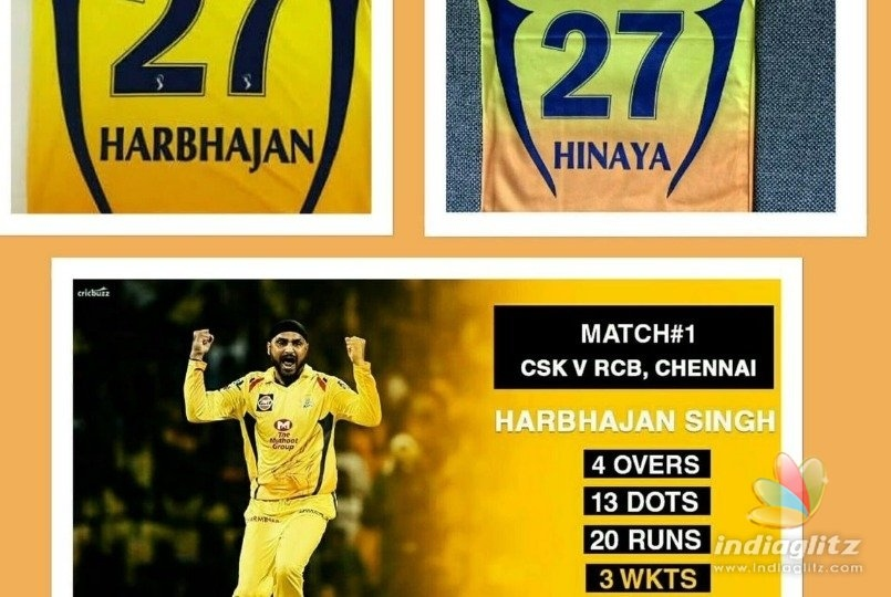 Harbhajan explains magical connection between CSK win and his daughter