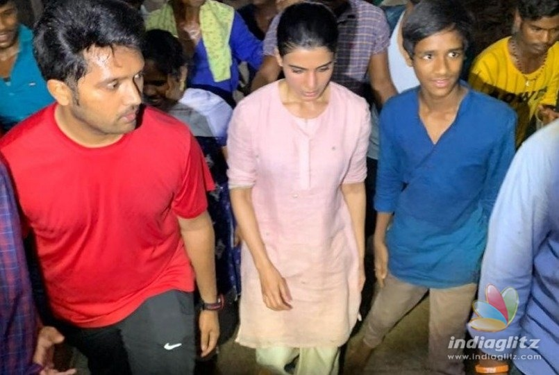 Why Samantha walked all the way to Tirupati temple at midnight