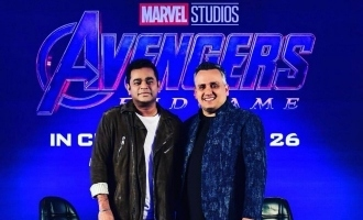 A.R.Rahman's Avengers anthem is released