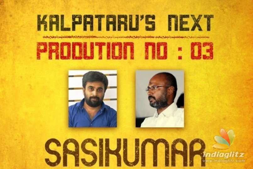 Sasikumar to start his new action thriller tomorrow