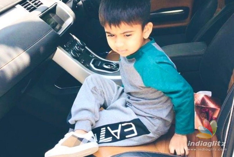 Rajinis grandson Ved storms the internet in Thalaivar style