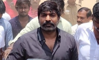 Vijay Sethupathi returns from Kerala to cast his vote
