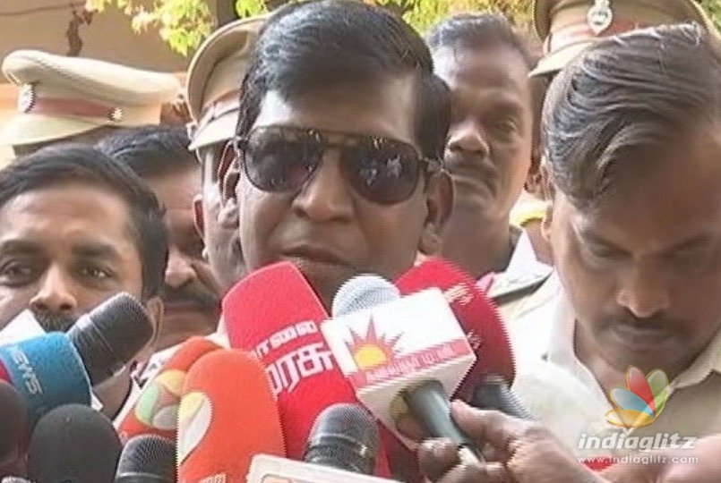 What Vadivelu said in his first public appearance after many months