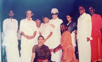 Venkat Prabhu shares blessed moment with MGR on a special occasion