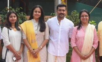 Jyothika's New Movie Pooja