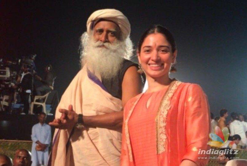 Tamannaahs divine experience