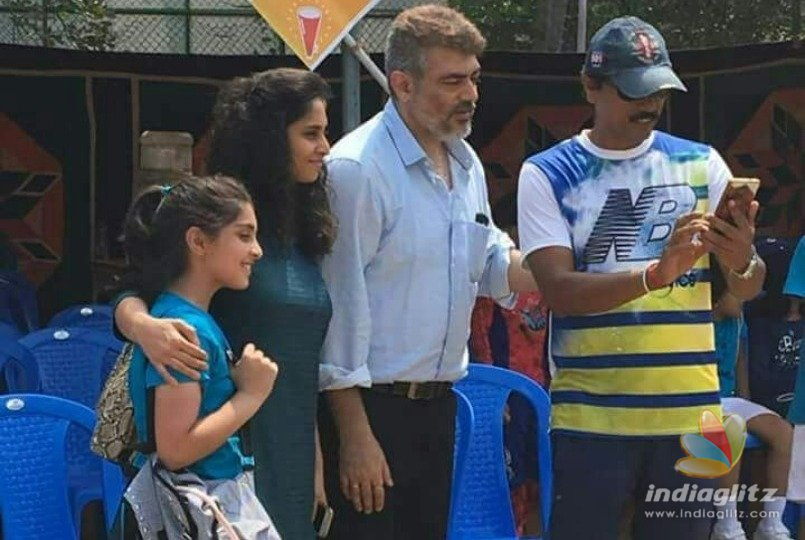 Thala Ajiths heartwarming gesture for his daughter