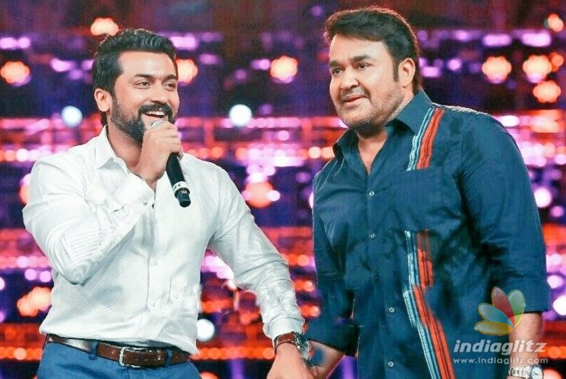 Dream Casting ! Suriya teams up with Mohan Lal for his new movie
