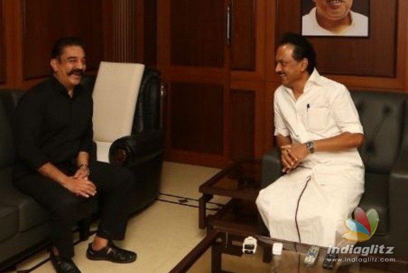 I will ask Rajini to join - Kamal Haasan