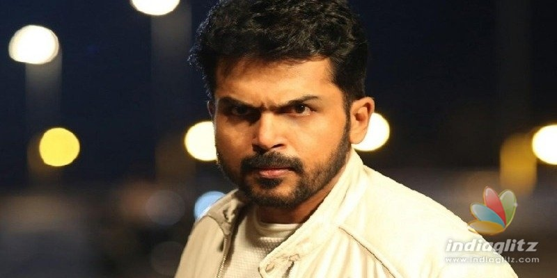 Karthi asks swift justice for Pollachi gang rape victims unlike Nirbhaya