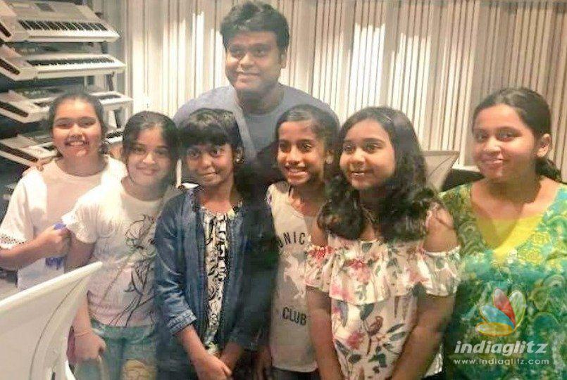Little kids join mega multistarrer Suriya 37