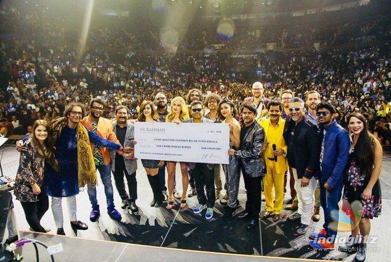 A.R.Rahman donates big for Kerala