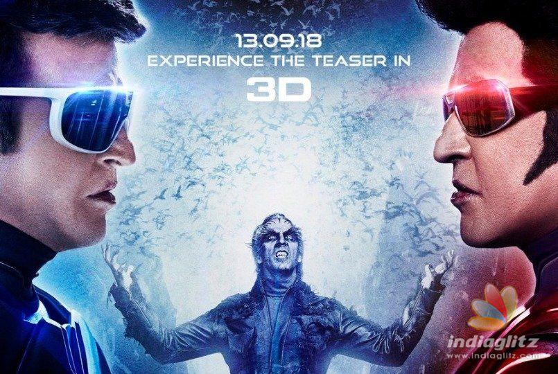 Breaking! Superstar Rajinikanths 2.0 teaser release date officially announced