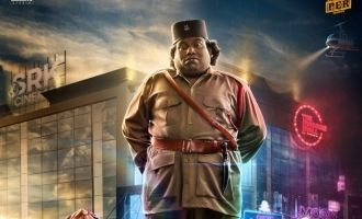 Yogi Babu's new movie as hero title and first look released