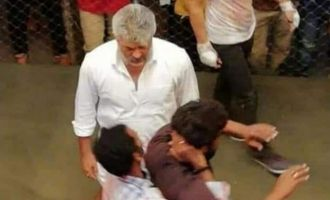 Thala Ajith's fight moments in 'Viswasam' leaked