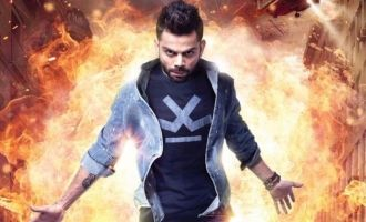 Wow! Virat Kohli's debut movie as a superhero?
