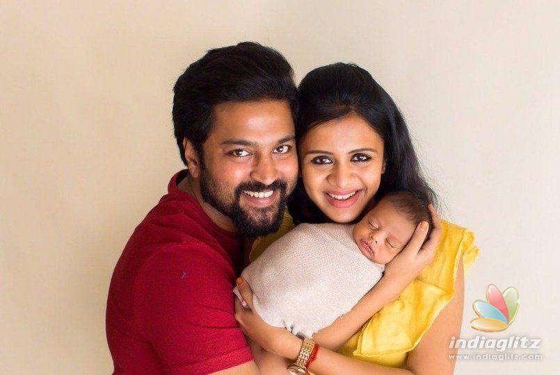Chandran-Anjanas viral cute baby pics will make you go aww. . .!