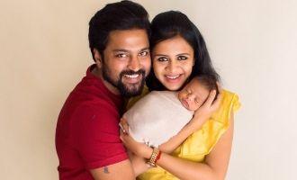 Chandran-Anjana's viral cute baby pics you shouldn't miss!