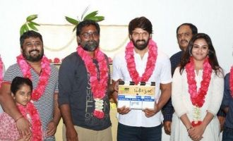 Arya's New Movie 'Magaamuni' Pooja