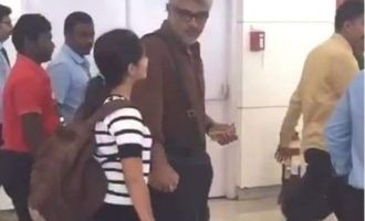 Thala Ajith flies to Goa with family