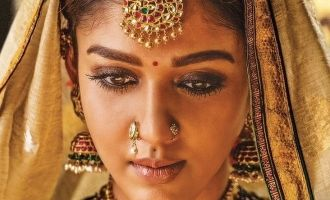 Nayanthara stuns in queenly 'Sye Raa' first look motion poster