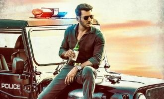 Vishal's new movie 'Ayogya' first look released