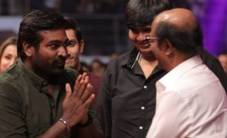 Rajinikanth's phenomenal praise on Vijay Sethupathi
