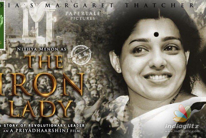 Born Actress! Nithya Menen transforms into Jayalalitha