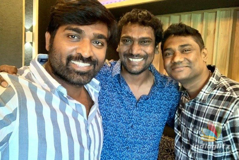 Vijay Sethupathi goes behind mic for Harish Kalyan