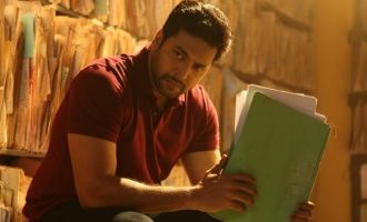 Racy techno cop thriller - Jayam Ravi's 'Adanga Maru' sneak peek review