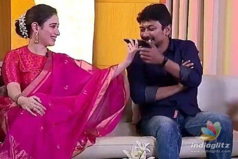 Udayanidhi Stalin reveals Tamannaahs lover