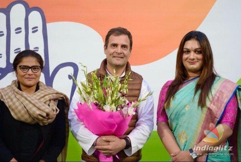 Rahul Gandhi gives Apsara Reddy highest post ever for a transgender