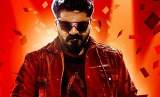 Simbu arriving with Red Card!