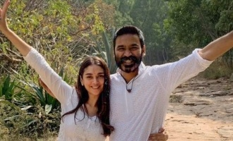 Dhanush & Aditi Rao Hydari's latest pic goes viral