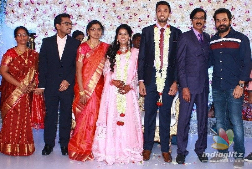 Manobalas son gets married