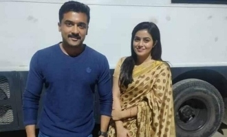 Poorna joins Suriya's next movie