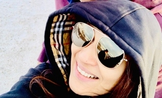 Soundarya - Vishagan honeymoon in freezing cold