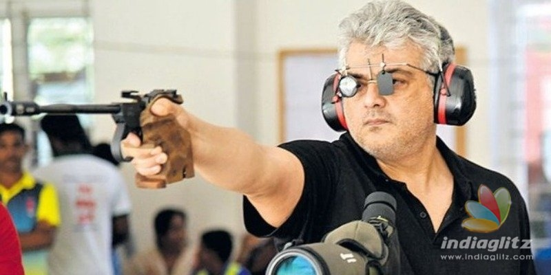 Thala Ajith conquers the rifle shooting competition