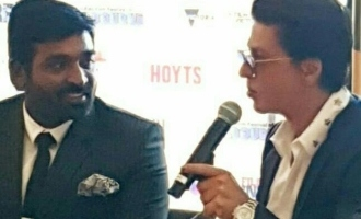 Shahrukh Khan's huge surprise compliment for Vijay Sethupathi!